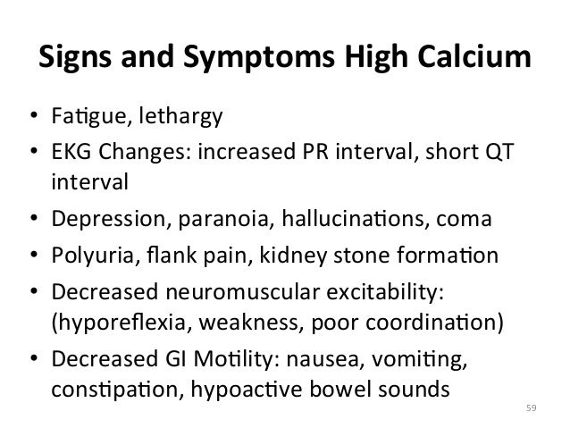 how to remember signs and symptoms of electrolyte imbalances