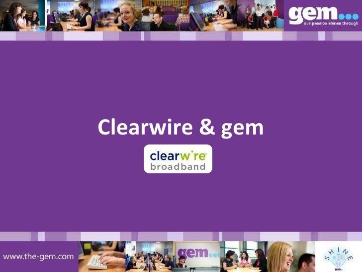 Clearwire & gem