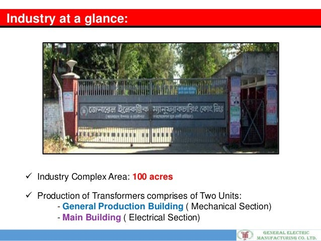 Gemco General Electric Manufacturing Company Chittagong Bd