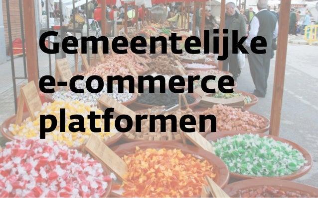Gemeentelijke e-commerce platformen