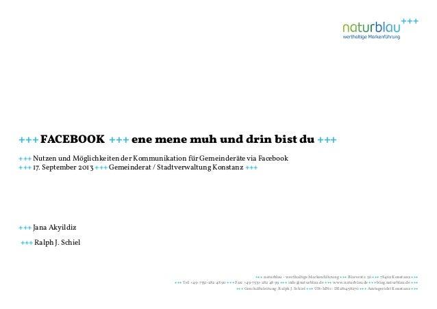 +++ naturblau - werthaltige Markenführung +++ Blarerstr. 56 +++ 78462 Konstanz +++ +++ Tel: +49-7531-282 48 90 +++ Fax: +4...
