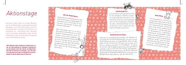 24  25  Aktionstage Auf diesen Seiten findet ihr ein paar Beispiele, was ihr an Aktionstagen, wie beispielsweise dem Georg...