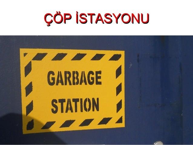 Gemi Çöp İstasyonu