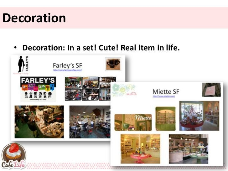 Decoration • Decoration: In a set! Cute! Real item in life.