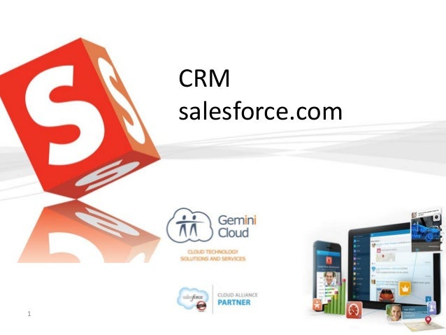 CRM salesforce.com  Gemini Cloud  1