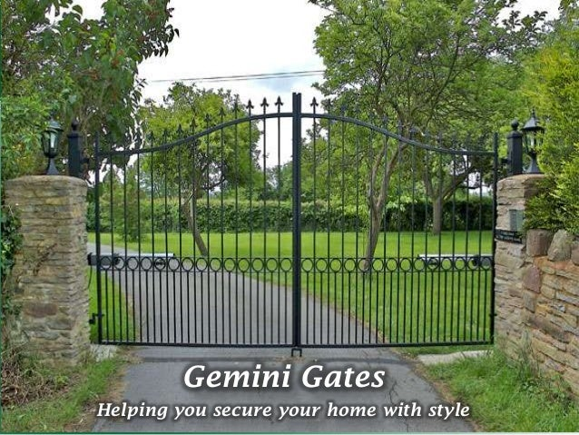 Gemini GatesHelping you secure your home with style