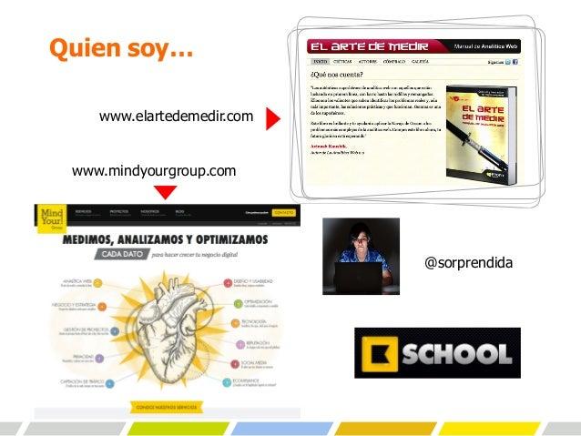 Presentación de Gemma Muñoz en Chile Digital 2013 Slide 2