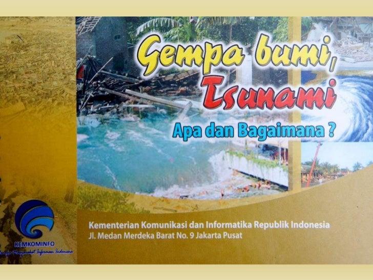 Gempa Bumi dan Tsunami 1