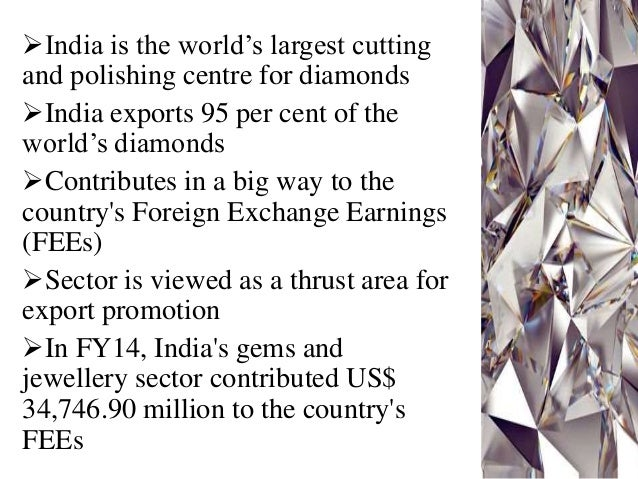 export of gems and jewelry in Gem & jewellery export promotion council (gjepc) is an organisation set up by  the ministry of commerce and industry (india) with aim to promote the indian.