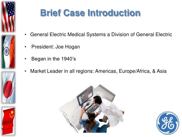General Electric Medical Systems – Global Product Company concept Essay Sample