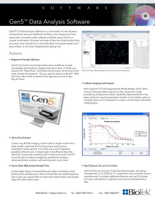 gen5 single sheet english rh slideshare net Biotek Disenfectant Chemicals biotek gen5 user manual