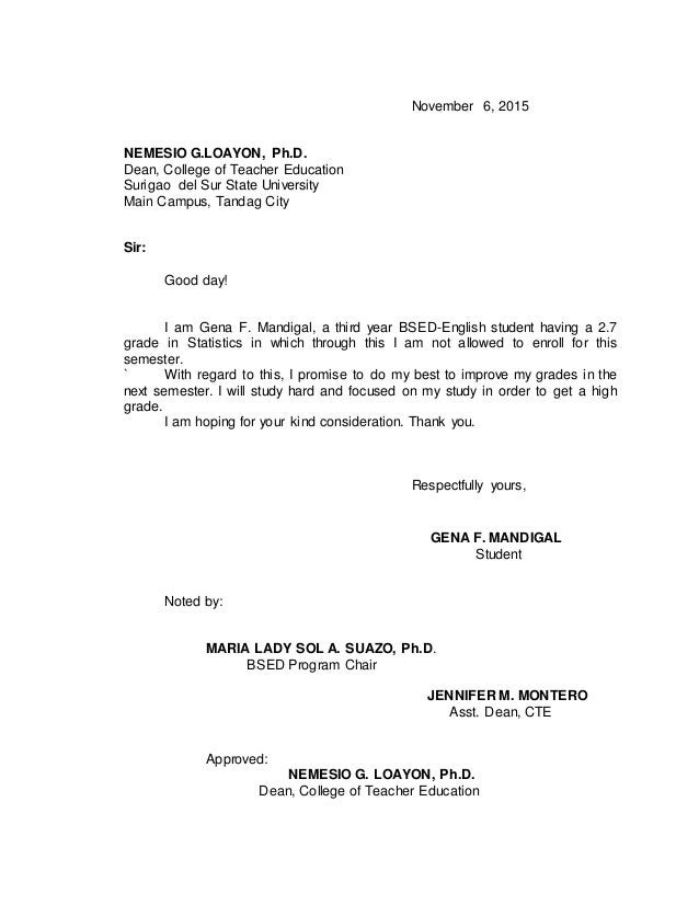 Promissory Note Sample Only. November 6, 2015 NEMESIO G.LOAYON, Ph.D. Dean,  ...  Promisory Note Example