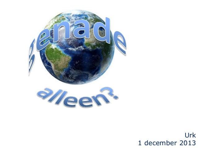 Urk 1 1 december 2013