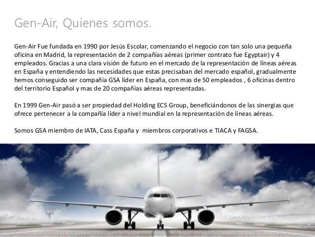 Gen air carga a rea francisco ortega for Oficina de avianca en madrid