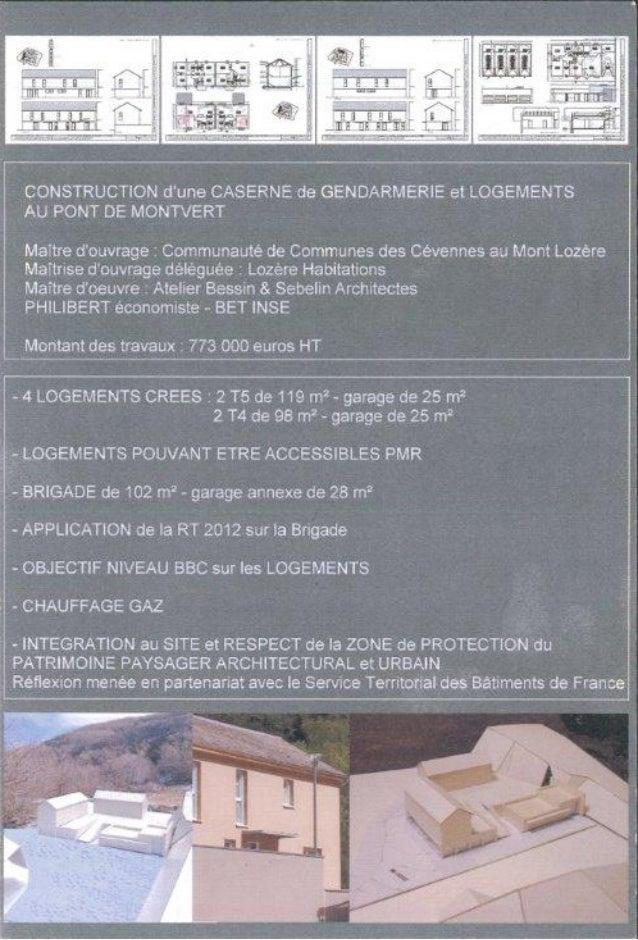 Caserne de gendarmerie au Pont de Montvert
