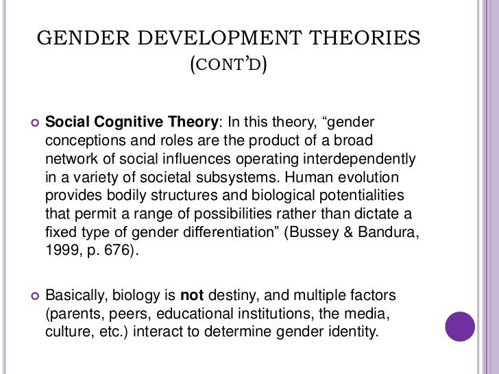 factors that lead gender identity Free gender identity papers the importance of biological factors in the development of gender identity - the importance of biological factors in the.