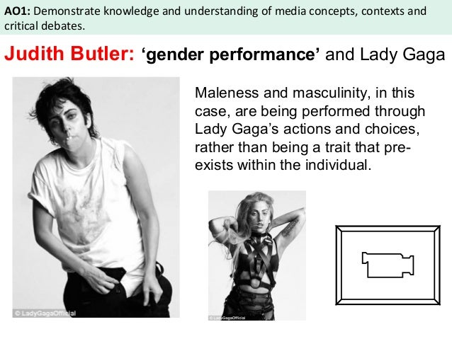 judith butlers trouble in gender essay In this essay, judith butler proposes her theory of gender performativity, which would be later taken up in 1990 throughout her work, gender troubleshe begins by basing her theory of gender performativity on a feminist phenomenological point of view.
