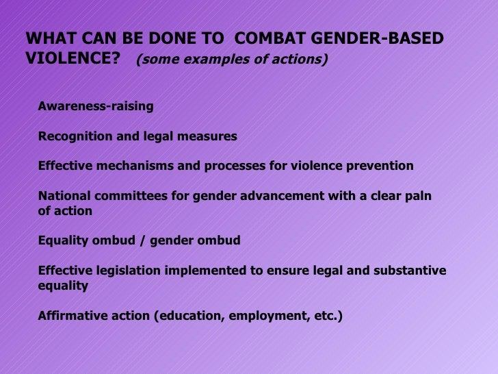 Gender-based Violence by Patricia Sarenas