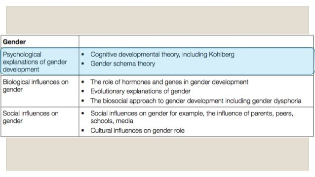 gender labeling theory