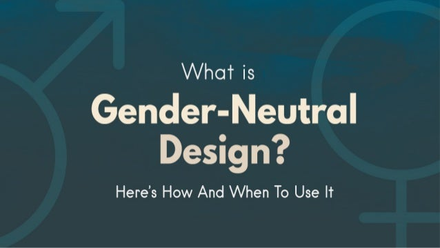 The feminine / masculine design stereotype is everywhere. Marketing campaigns use specific colors and layouts to appeal to...