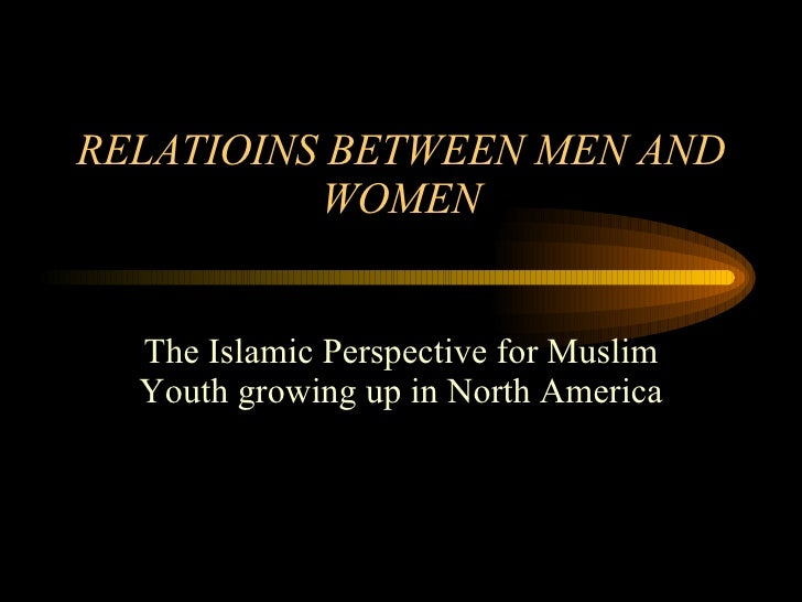 friendship between man and woman in islam