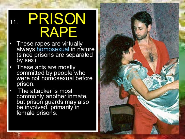 Homosexuality in female prisons