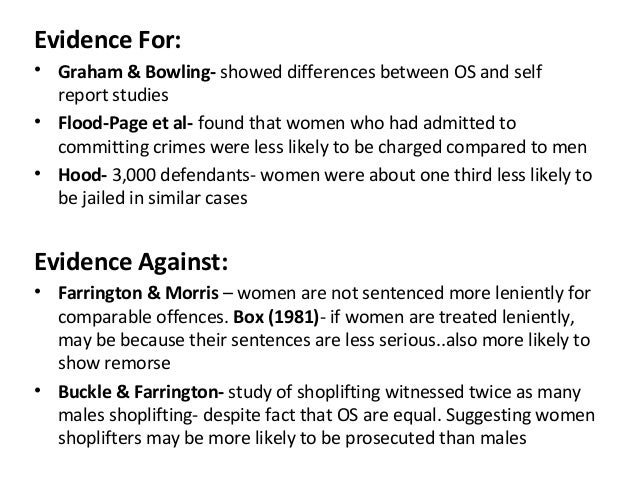Crime and Deviance Theories/ Quotes