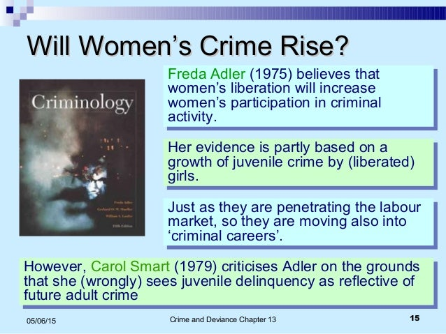 gender and crime Gendered discourses of crime and justice this is the first monograph on this  subject, and a welcome contribution to the historiography of both gender and.