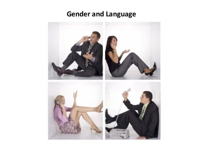 Gender and Language