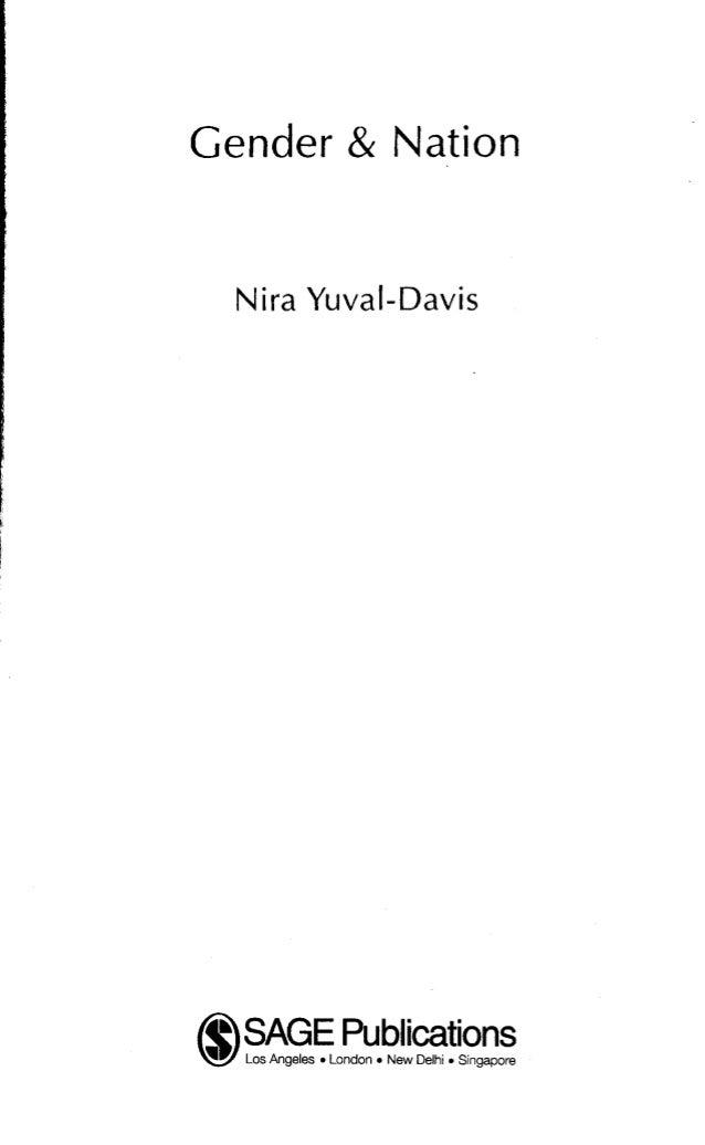 Gender & Nation  Nira Yuval-Davis