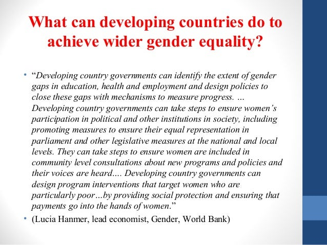 Examination of Gender Equity and Female Participation in Sport