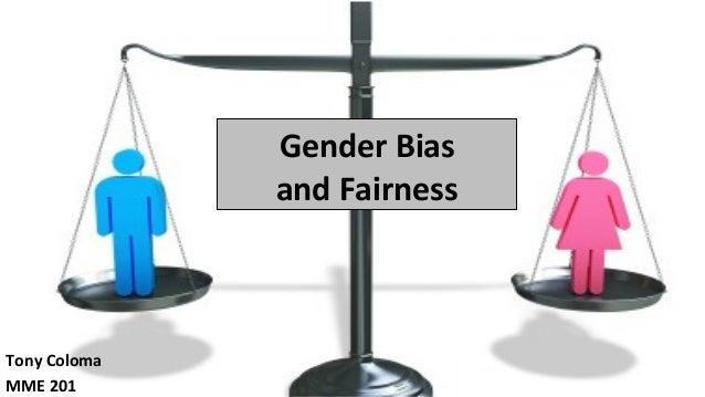 Sex bias