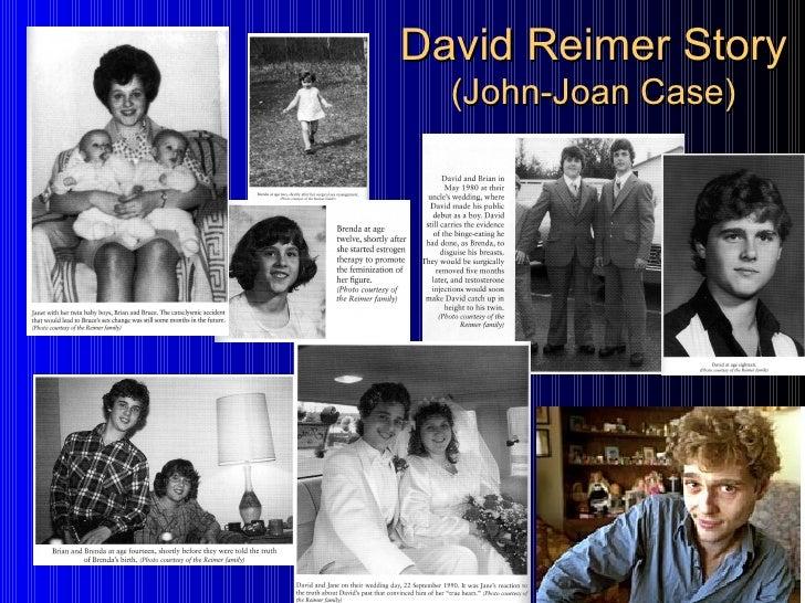 David Reimer Story (John-Joan Case) ...