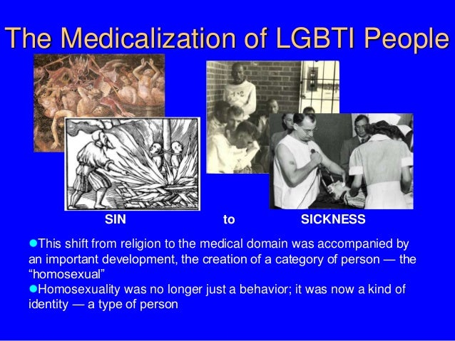 Medicalizing homosexuality in christianity