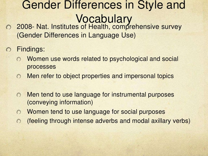 gender diferences Keywords: sexual differentiation, brain anatomy, sex differences, sexual orientation, gender identity, sex chromosomes, sry, dopamine, behavior.