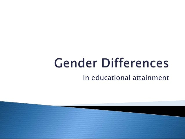 gender dissimilarities certification articles
