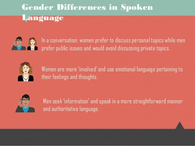 gender differences in advertising language Representations in food advertising broadcast in spanish television are  main  results obtained show clear gender differences  language and gender.