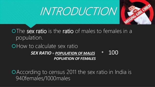 Calculate Sex Ratio 113