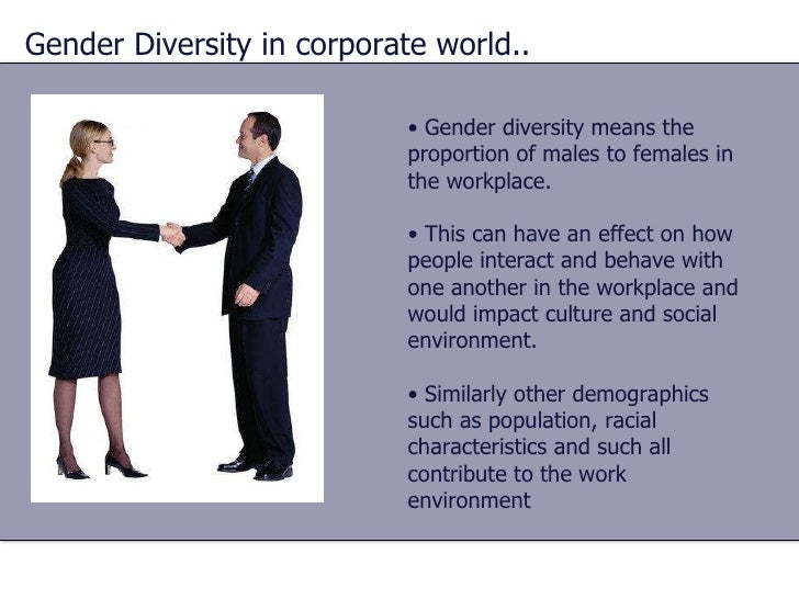 Diversity and the Workplace