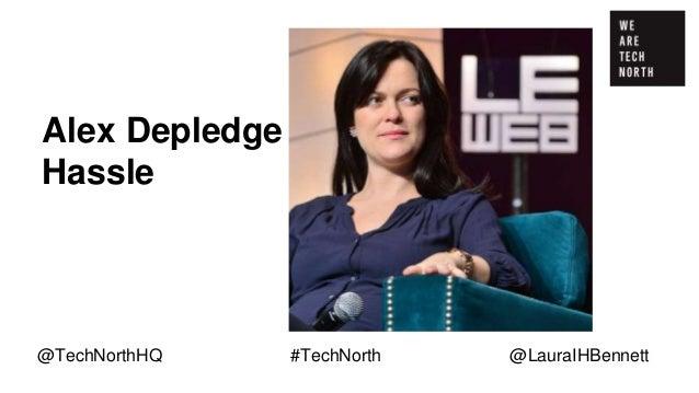 Michelle You Songkick @TechNorthHQ #TechNorth @LauraIHBennett