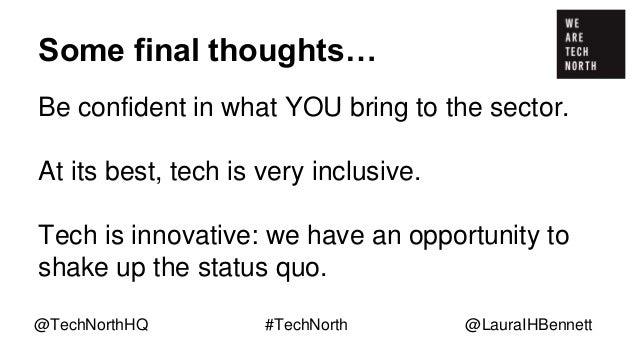 Thank You! @TechNorthHQ @C4Dihull @lauraihbennett