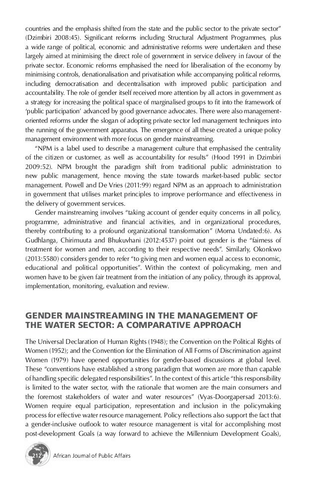leadership in the public policy making Capacity to participate in decision-making and leadership both strategies are proposed different levels of public decision-making has increased although the goal of 30 % policy and program platforms of political parties are proposed and discussed as the bases.