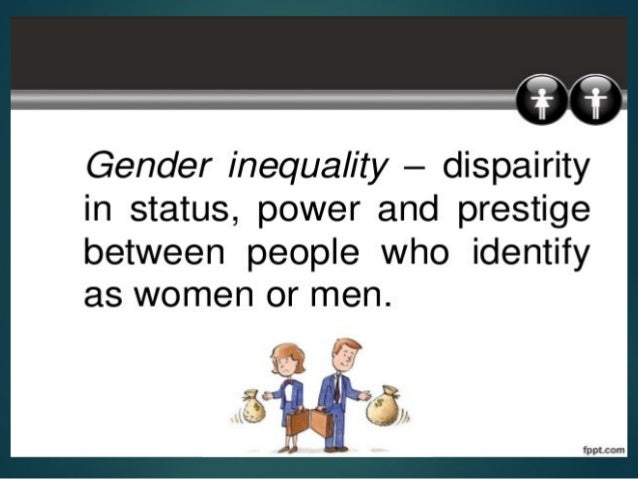gender inequality and discrimination an evaluation In which gender discrimination was pervasive compared to a context in which is was rare in study 1 women who attributed a negative evaluation to pervasive sexism exhibited less positive self-esteem with factual information about both gender inequality in the workforce (eg 'in 1996, women were.
