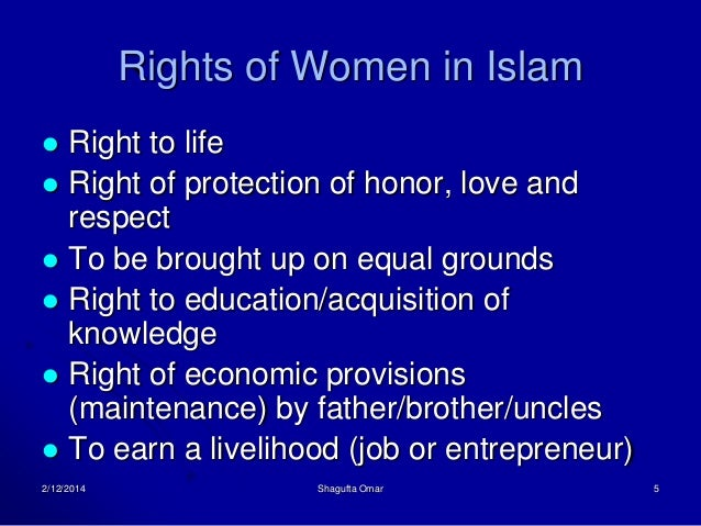 gender equality in islam essay Disclaimer: this essay has been submitted by a student this is not an example of the work written by our professional essay writers any opinions, findings.