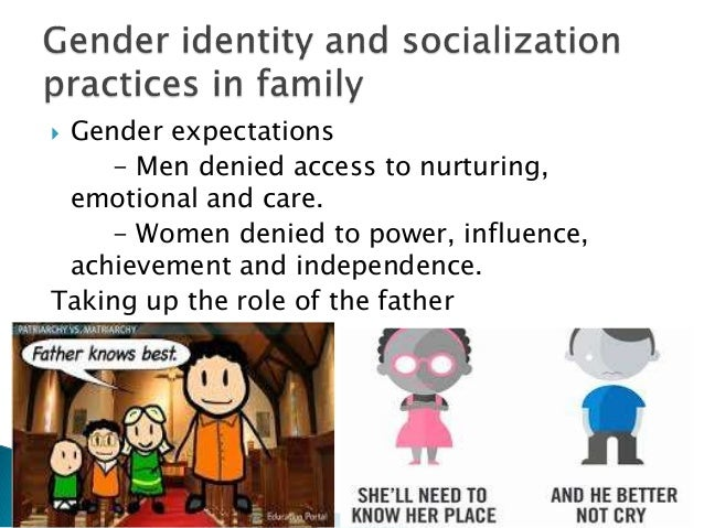 role of family in the process of socialization