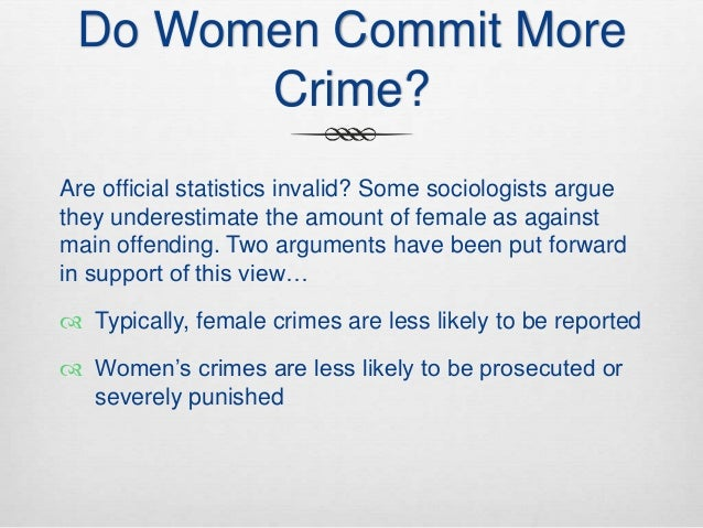 dissertation on crime and gender essay Gender and crime name university abstract due to recent studies regarding the gender gap within find essay examples gender and crime - research paper example.