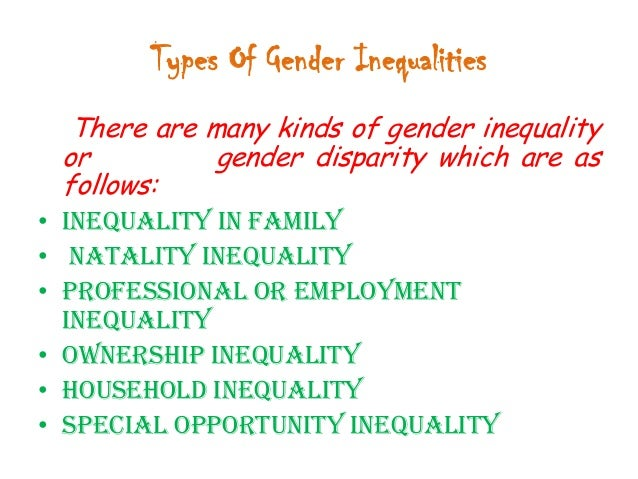 describe some of the inequalities on 18 comments on five causes of inequality yesterday i listed ten reasons why you should care about inequality some other causes of economic inequality may be.