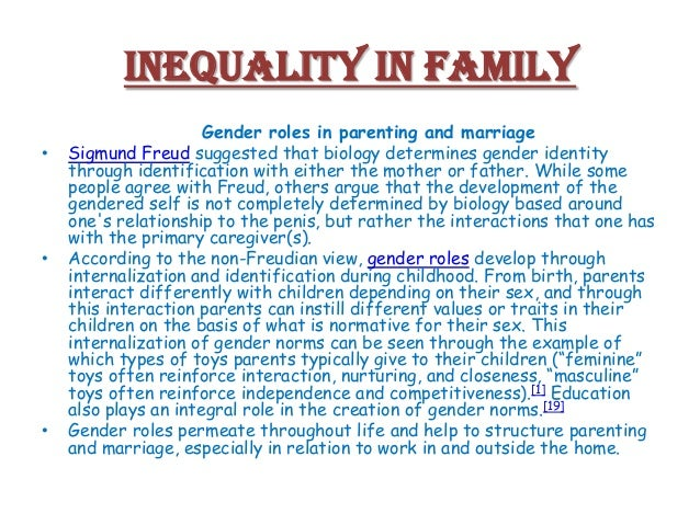 causes of gender inequality essay