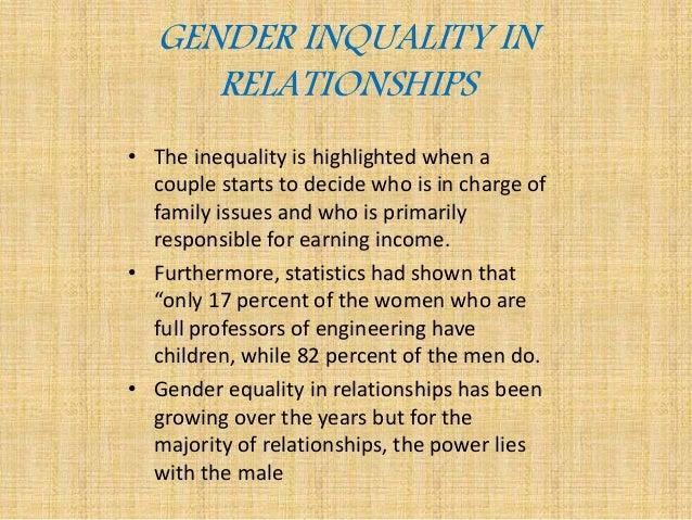 Gender inequality11(0)