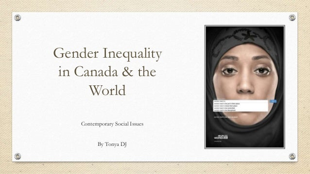 The problem of gender inequality